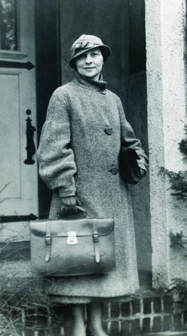 Expert cryptanalyst Elizebeth Friedman, whose codebreaking made possible the convictions of some three dozen bootleggers and ringleaders. (NSA photo)