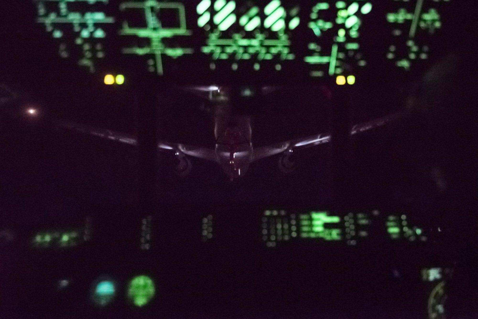 KC-46A Pegasus refuels MC-130J Commando II