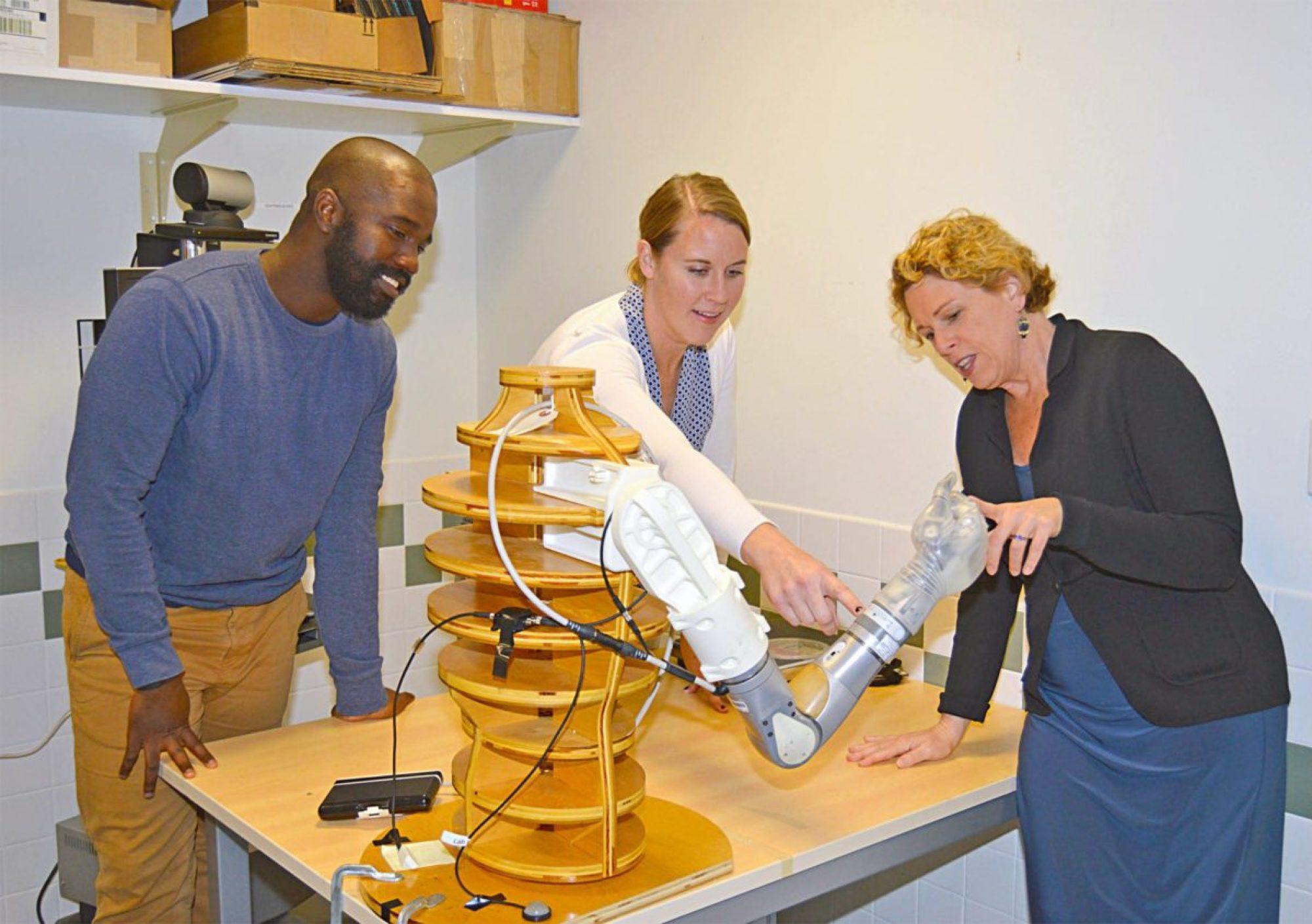 DEKA arm advanced upper-arm prosthesis