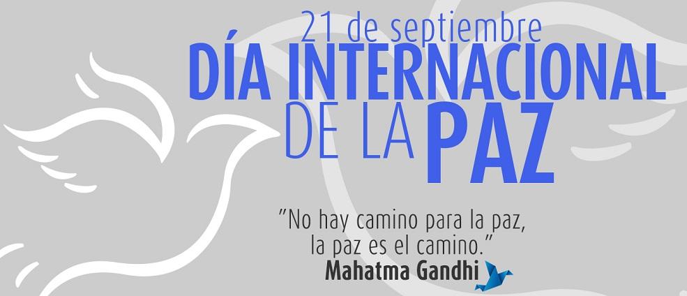 Resultado de imagen de 21 de septiembre dia internacional de la paz