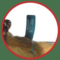 Jamón paleta cebo campo Ibérico 50% extremadura defiallo don benito