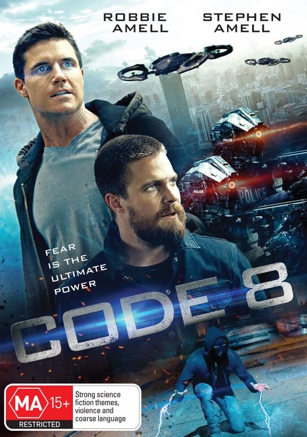 DEF2888 Code 8 DVD front FINAL