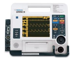 Lifepak 12 multi parameter monitor and defibrillator