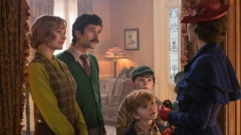 De cast van Mary Poppins Returns recensie met Emily Blunt aan kop