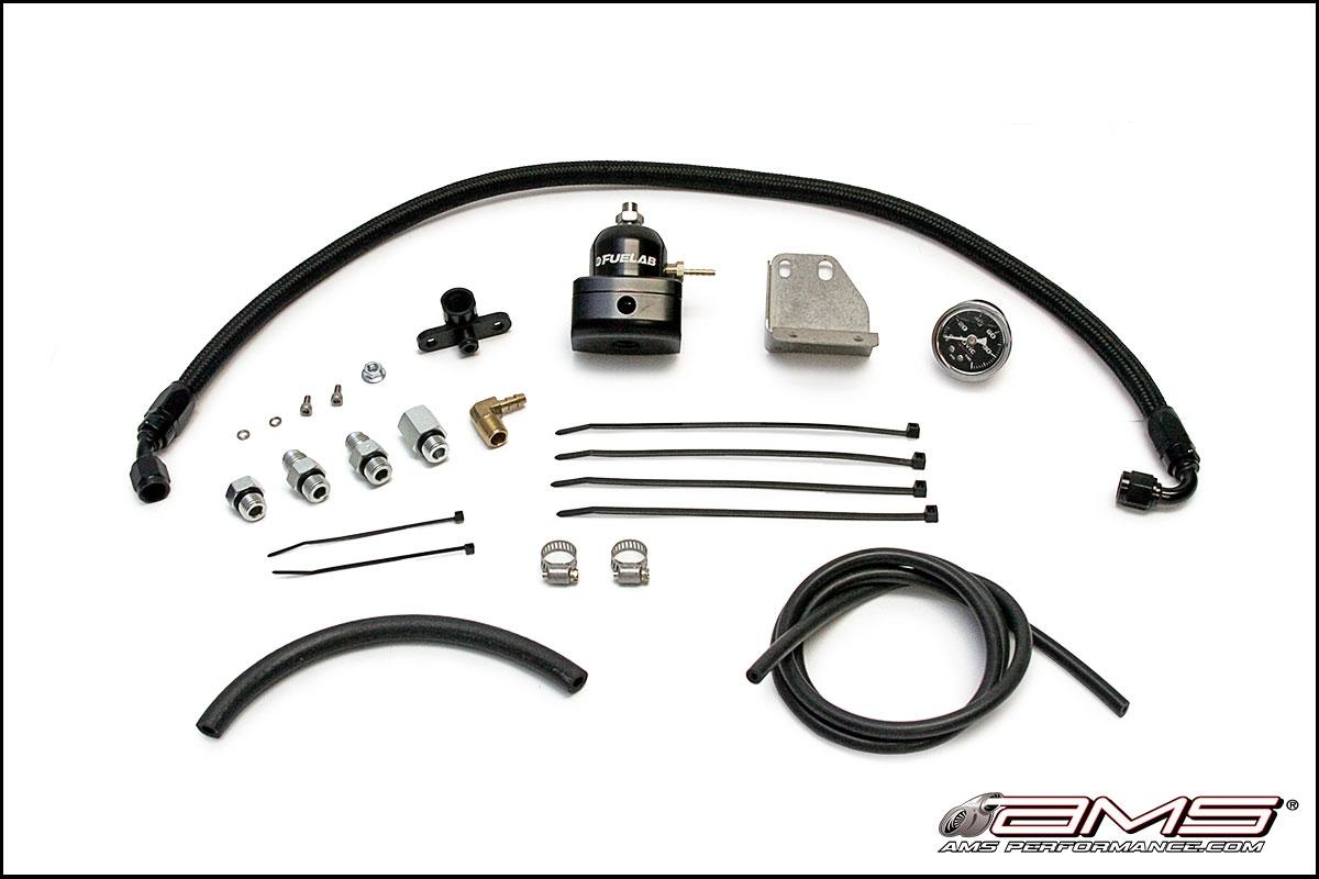 Ams Performance Fuel Pressure Regulator Kit Evo X 10