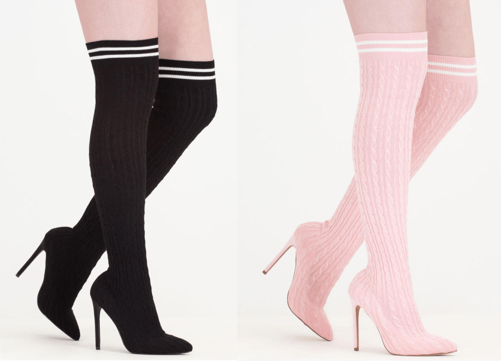 9365ef07bf Trend Alert: Thigh High Boots