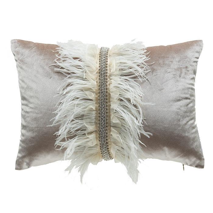 cloud9 design ava velvet with ostrich