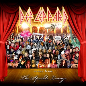 Def Leppard Songs From The Sparkle Lounge Album Cover