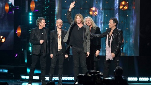 Def Leppard Rock and Roll Hall of Fame Ceremony speech