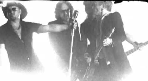 Def-Leppard-Tim-McGraw-Nine-Lives-Music-Video