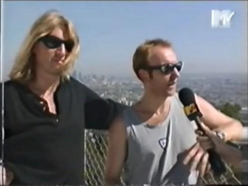 Def Leppard Joe Elliott and Phil Collen MTV Slang interview