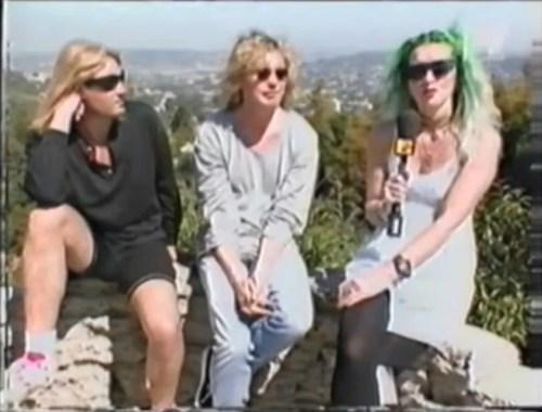 Def Leppard Joe Elliott and Rick Savage MTV Slang interview
