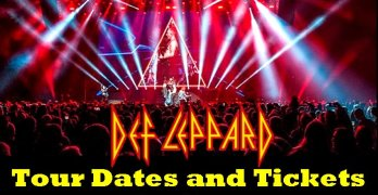 Def Leppard 2021 Tour Tickets: Stadium Tour, 20/20 Vision Tour, And More!