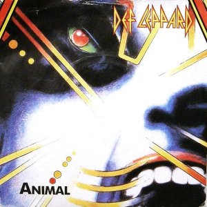 Def Leppard Hysteria single Animal vinyl 45