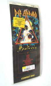 Def Leppard Hysteria CD packaging