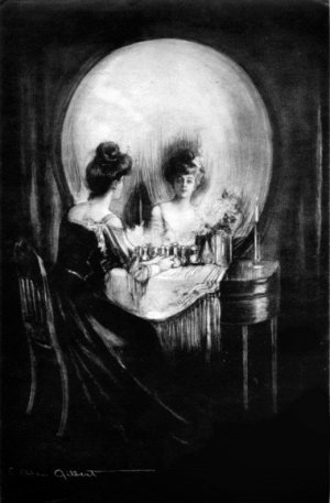 "Charles Allan Gilbert ""All is Vanity"" painting"