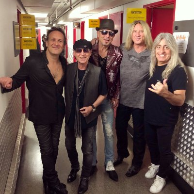 Def Leppard and The Scorpions