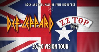 Def Leppard ZZ Top 2020 Vision Tour Banner