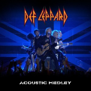 def leppard acoustic medley digital release