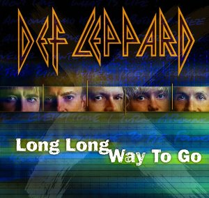 def leppard cd single long long way to go