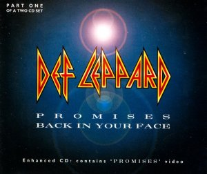 Def Leppard Promises CD Single