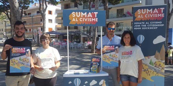 Capdepera: Tercera edició consecutiva de la campanya 'Suma't al civisme'