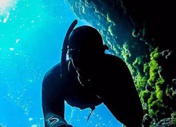 Denunciat un home que realitzava pesca submarina a la Reserva Marina del Llevant