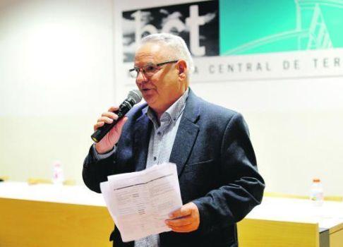 L'escriptor Bernat Nadal, Premi Ciutat de Terrasa Agustí Bartra