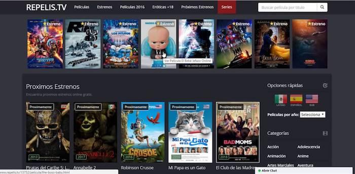 S'acaba el negoci per als webs pirates de cinema