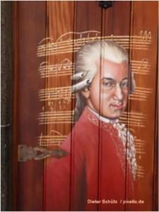 Mozart - Dieter Schütz / pixelio.de - Selbstreflexion - Die Kunst, dran zu bleiben