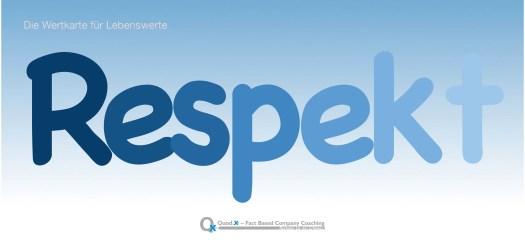 Draufklicken – herunterladen – ausdrucken – … und sich oder jemand Anderem damit den Wert von Respekt in Erinnerung rufen.