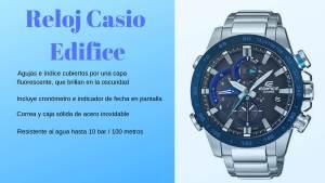 Reloj Casio Edifice - Relojes de frases de la vida, relojes con frases