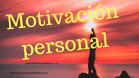 Motivación personal