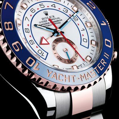 Rolex Yacht Master II Acero y Oro Rosa 116681 5 - Rolex Yacht-Master II analisis