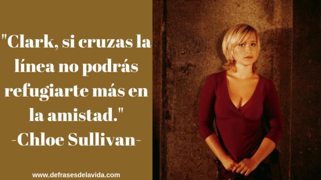 Chloe Sullivan frases
