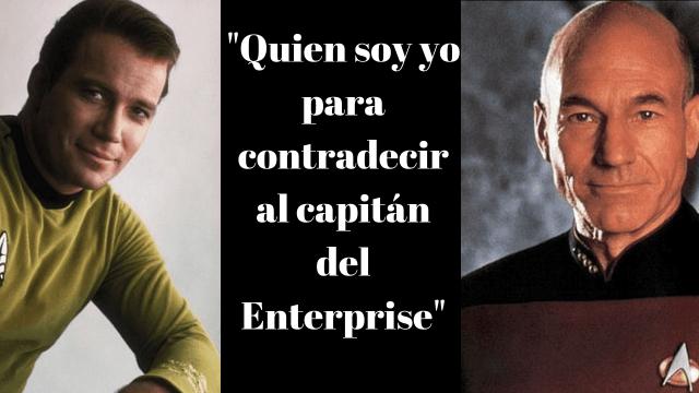 Kirk a Picard