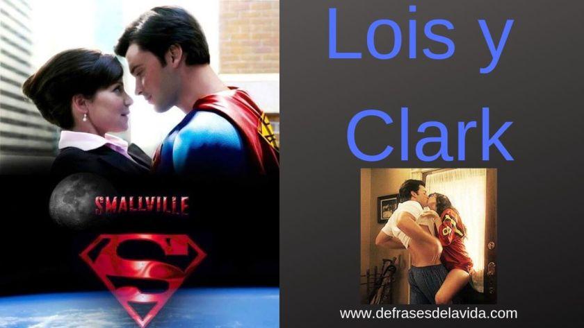 Lois Lane y Clark Kent Smallville