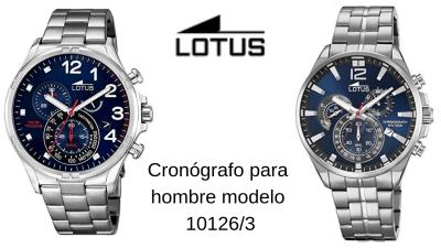 Lotus Cronógrafo para hombre modelo 10126/3