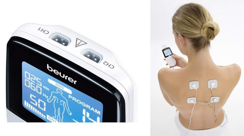 lectroestimulador digital 3 en 1 Em-49 incluye 3 funciones