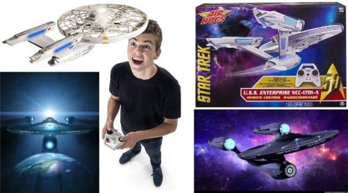 Enterprise nave radio control Air Hogs - Frases de Star Trek