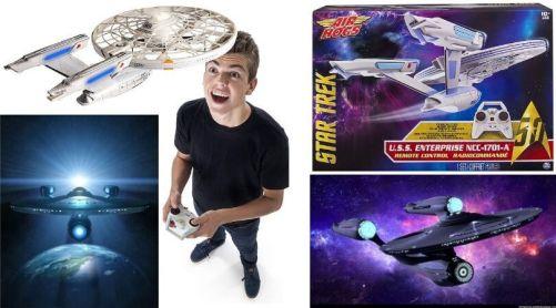 Enterprise nave radio control Air Hogs - Frases de Star Trek