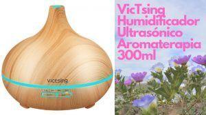 VicTsing Humidificador Ultrasónico 300 aromaterapia 300x167 - Salud y cuidado personal