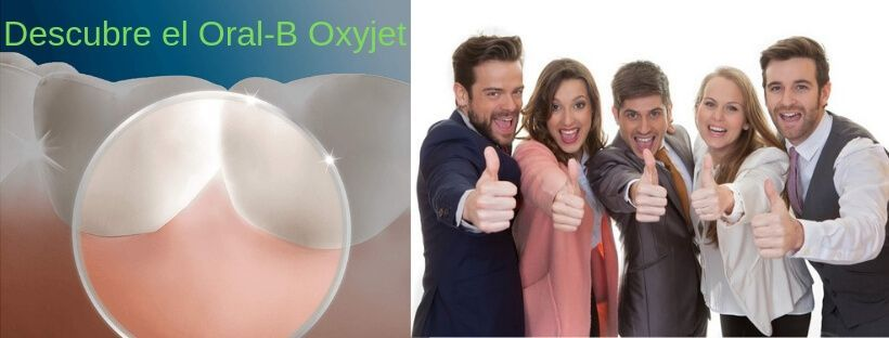 irrigador Oral-B Oxyjet liempieza suave de las encias