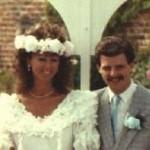 wedding picture Paula & Eddie