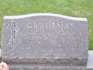 Grave Jay & Jaymie Grahlman