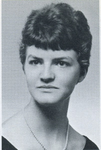 Sigrid M. Stevenson, photograph from her Livermore High School senior yearbook