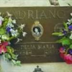 Delia's grave, Ron Kuzyk, Beaver photographer