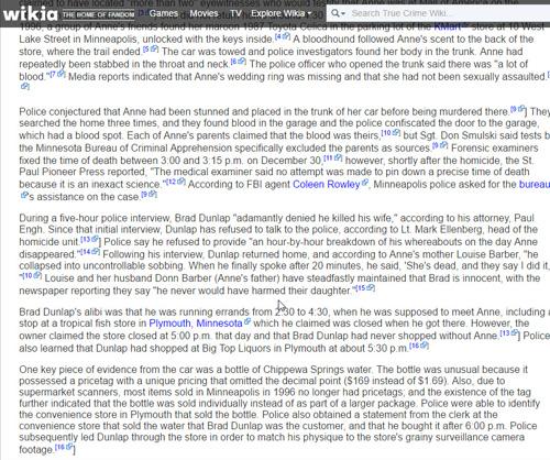 True Crime Wiki 2/Anne L. Barber Dunlap