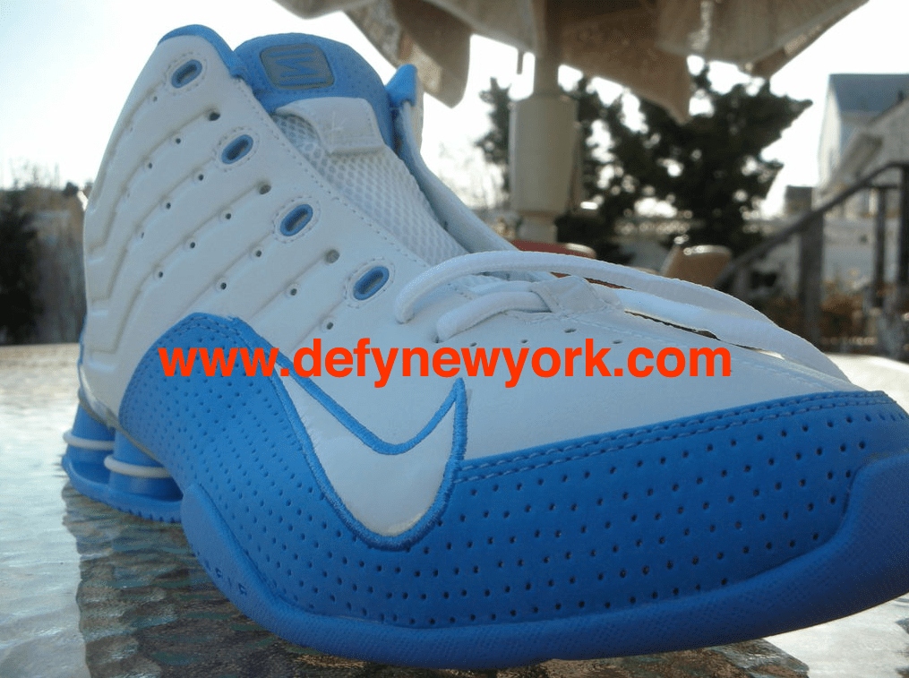 33c4e26713bc Elevate Your Game  Nike Shox Elevate TB 2004 White White-University Blue    DeFY. New York-Sneakers