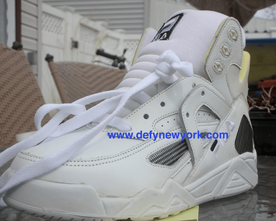 Still Caged Up 17 Years Later The Fila Cage 1993 White